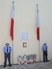 Sette Giugno riots commemoration ceremony held in Xaghra