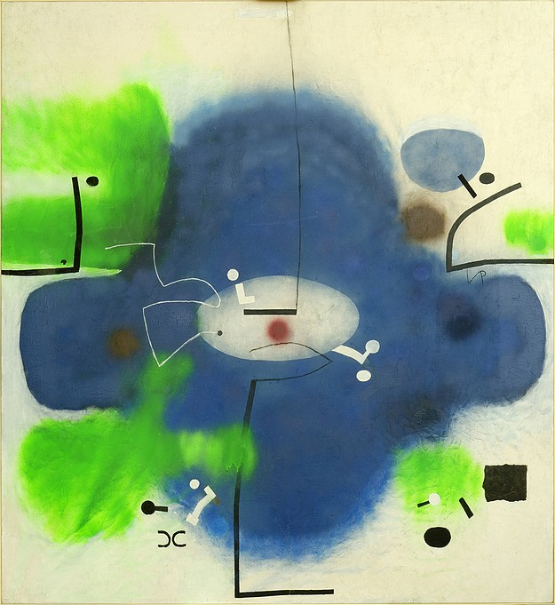 Two Victor Pasmore paintings donated to National Collection