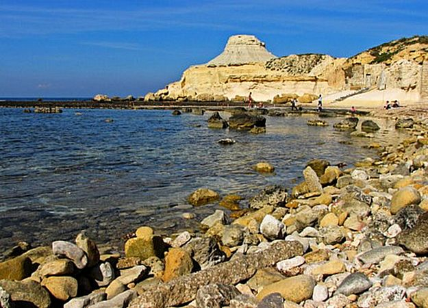 Dogs in Gozo are now allowed to swim in Xwejni Bay
