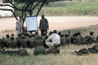 AFM Special Duties training team supports EUTM Somalia