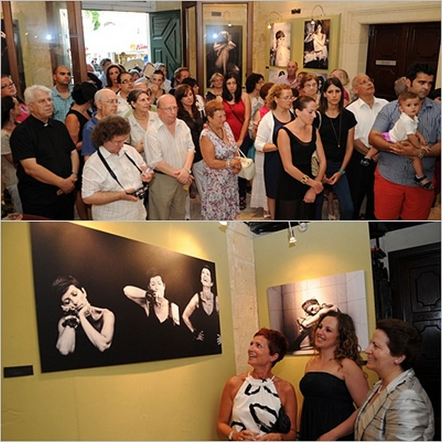 Claire Borg photographic exhibition at the Banca Giuratale