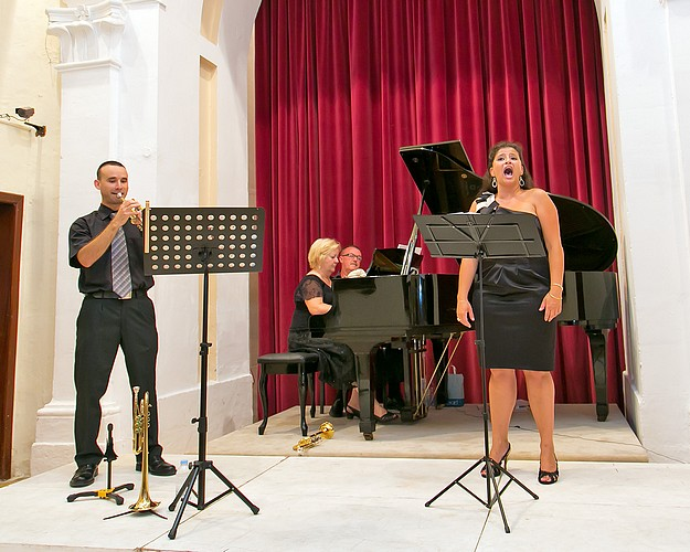 An evening of 'Festive Arias' held at the Ministry for Gozo