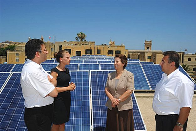 Ministry for Gozo increases its usage of sustainable energy