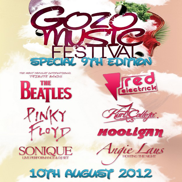 Gozo Music Festival Special 9th edition with live bands & DJs