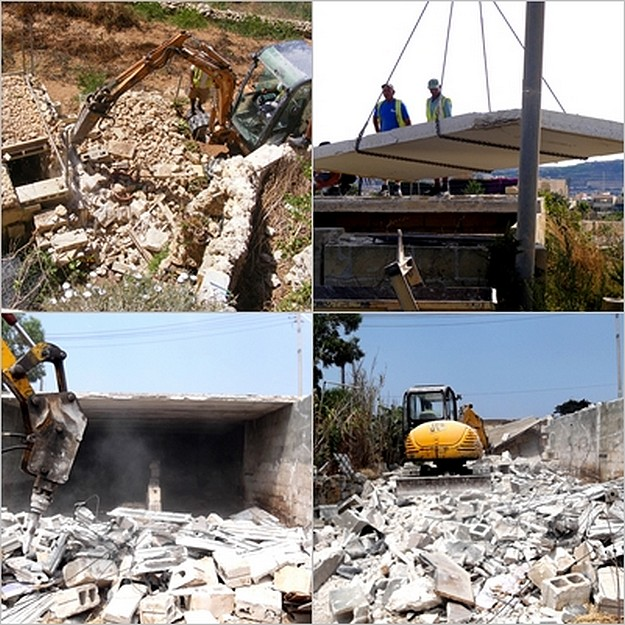 MEPA take direct action in Gozo at sites in Qala and Kercem