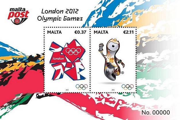 MaltaPost launches the Olympics 2012 stamps collection