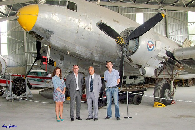 Eco-friendly lighting installed at the Malta Aviation Museum