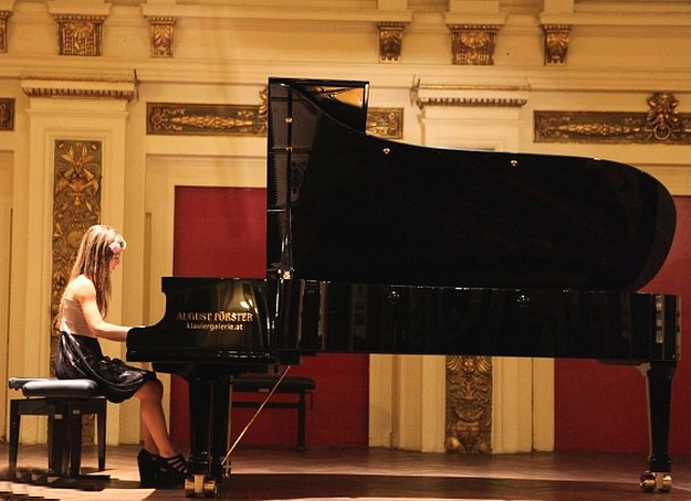 Golden Key Piano Composing Competition winner in Vienna