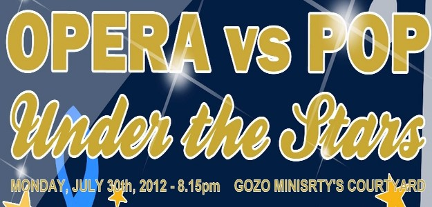 'Opera vs Pop Under the Stars' concert this coming  Monday