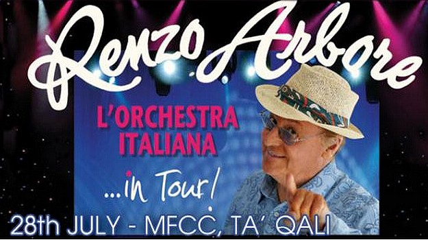 Arriva to provide special service for Renzo Arbore Concert