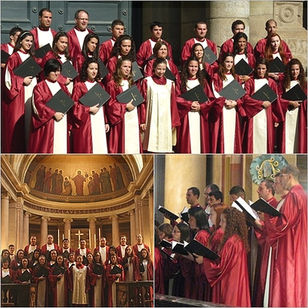Schola Cantorum Jubilate concert performances in France