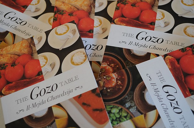 New recipe book out, The Gozo Table - Il-Mejda Ghawdxija