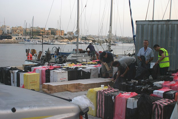 AFM intercepts yacht with around 2 m cigarettes onboard
