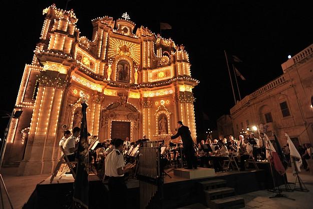 Symphonic Concert by Ghaqda Muzikali Vizitazzjoni of Gharb