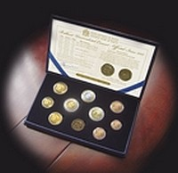 Central Bank of Malta to issue new euro coin set dated 2012