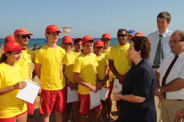 25 new lifeguards complete their training with Gozo's ERRC
