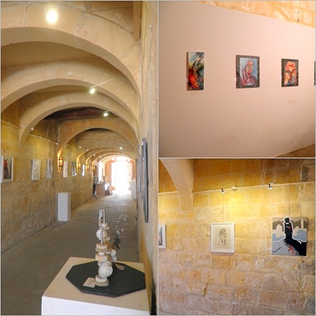 Exhibition of talented young artists taking place in Gozo