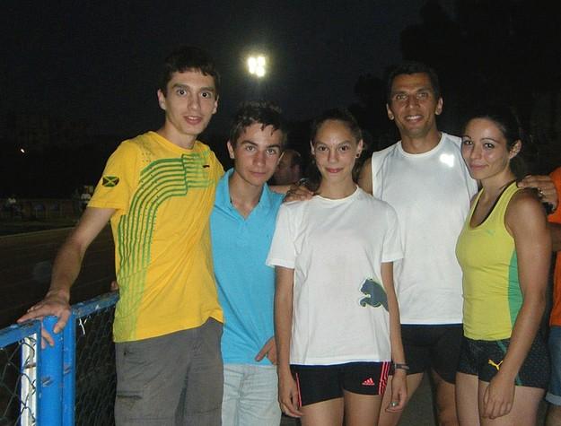 Gozitan athlete Francesco Caruana represents Malta