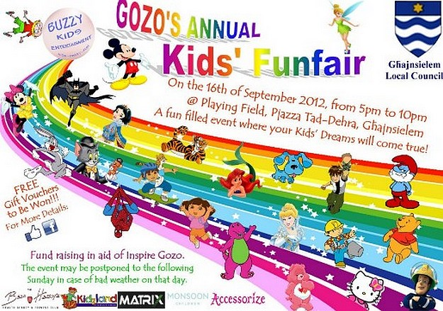 Gozo's annual Children's Fun Fair being held in Ghajnsielem