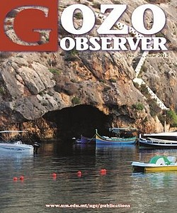 26th edition of the Gozo Observer, a Gozo Campus journal