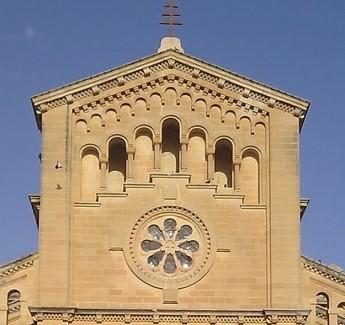 Restoration starts on front window at Ta' Pinu Sanctuary