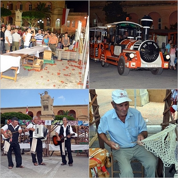 A festival of tomatoes & fun held in Kercem at the weekend