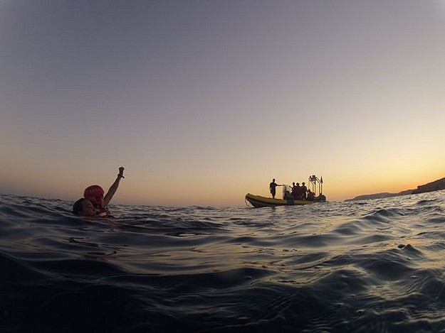 A busy weekend for the E.R.R.C. Lifeguards at Comino