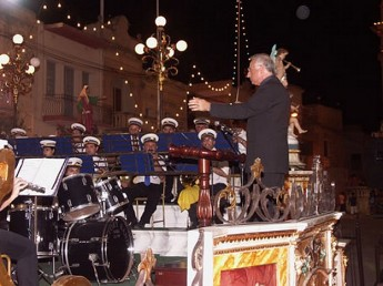 Musical concert by the Victory Band of Xaghra on Tuesday