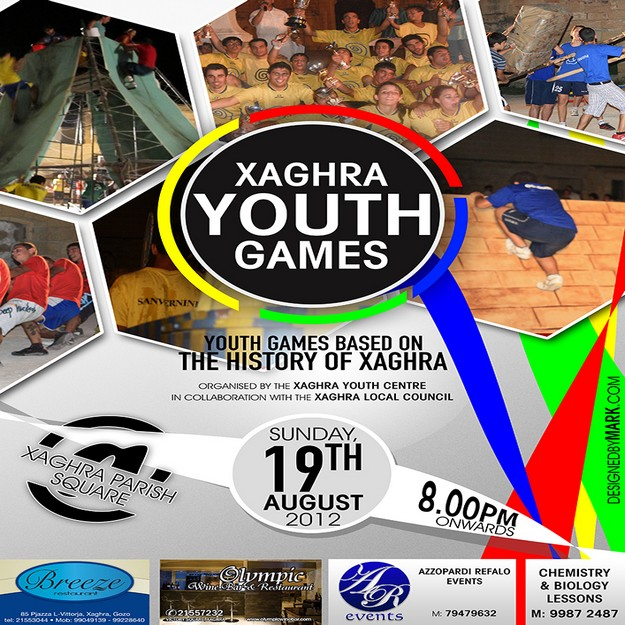 21st edition of Xaghra Youth Games being held on Sunday