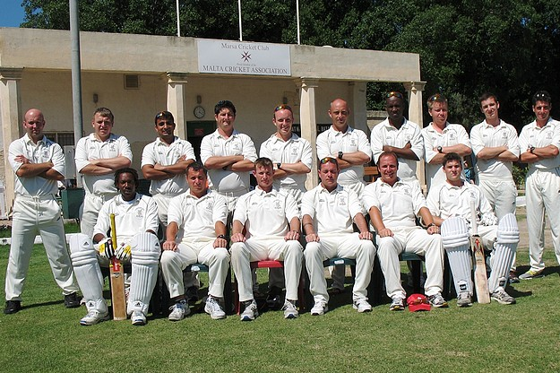 Two visiting sides take on Marsa in a cricket 20/20 series