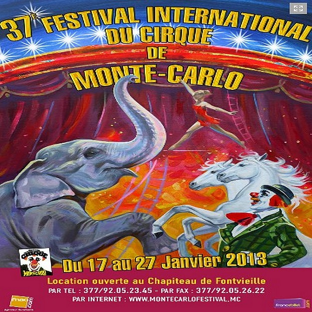 37th edition of Monte-Carlo International Circus Festival