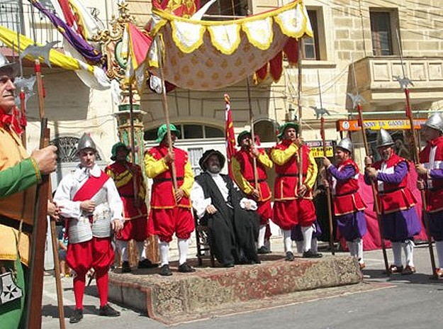 Xaghra ceremony commemorates the Great Siege of Malta