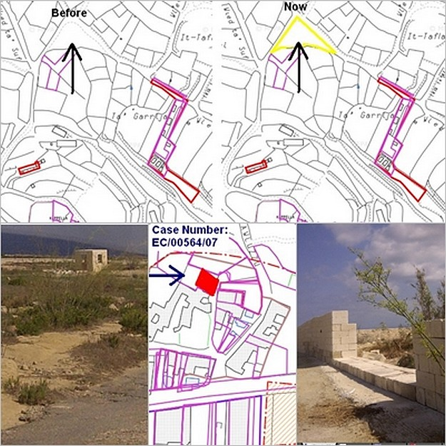 Illegal development in Gharb & San Lawrenz -  Ambjenti Malti