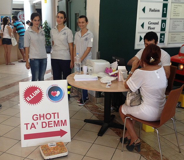 Good response to E.R.R.C. blood drive held at Arkadia Gozo