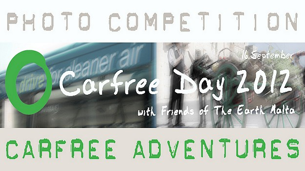 Friends of the Earth Malta Car Free Day photo competition