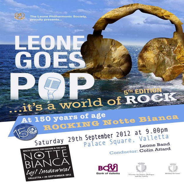 Leone Goes Pop at Notte Bianca in Valletta later this month