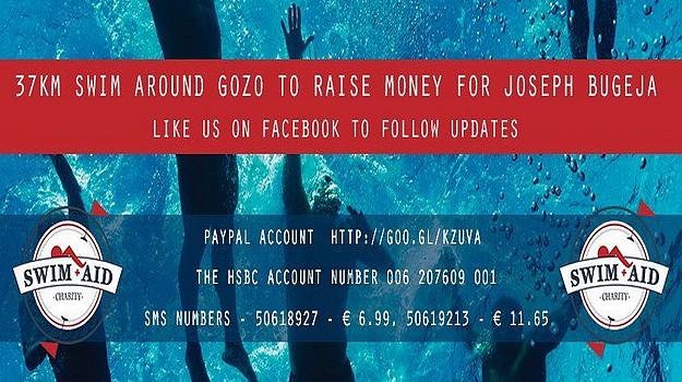 6 swimmers to take part in 37km charity swim around Gozo