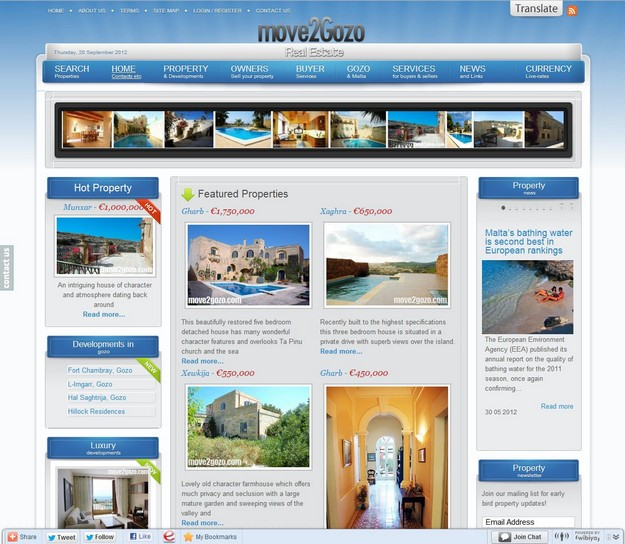 move2Gozo Real Estate wins European Property Award