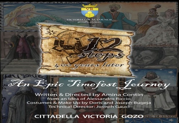 Extra performance of '12 Steps 400 Years Later' in Gozo