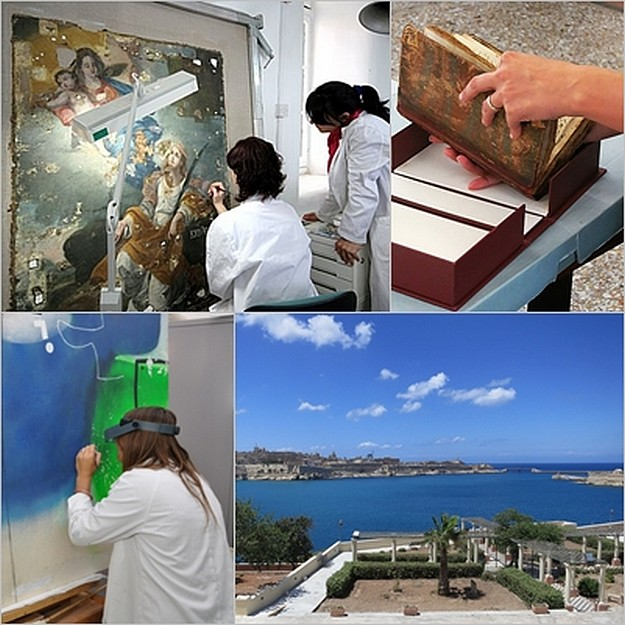 Open Day at Heritage Malta's Conservation Division in Bighi