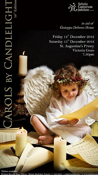 'Carols by Candlelight' with the Schola Cantorum Jubilate