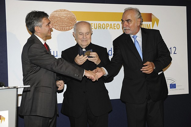 Mgr Victor Grech awarded the European Citizen's Prize 2012