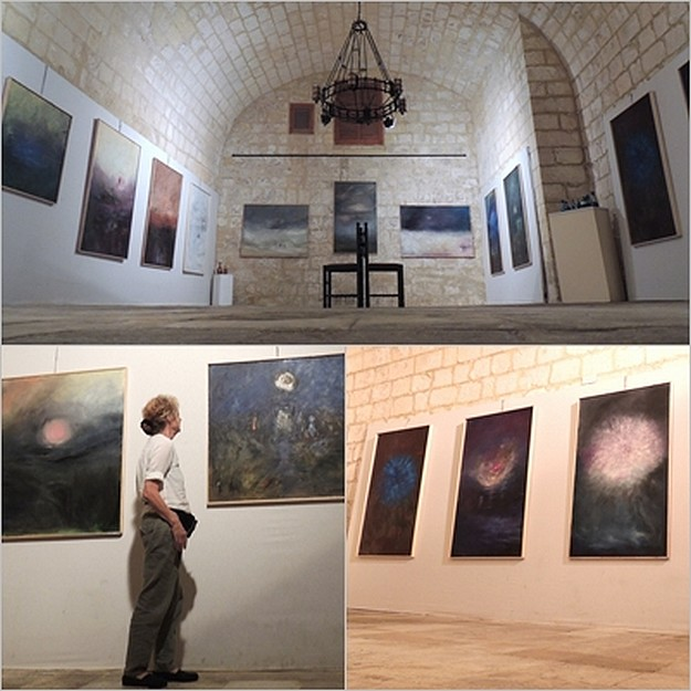 Gozo exhibition by French artist Colette Marchant