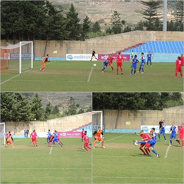 Gozo in a 2 all draw with ARF laloveni in today's match