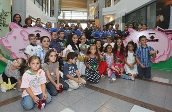 The  L-Istrina BOV Piggy Bank Campaign launched for 2012