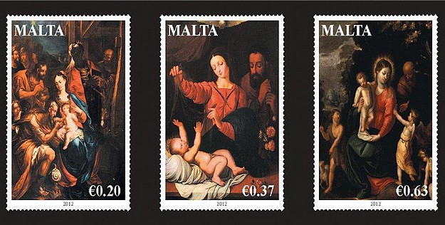 MaltaPost to issue its Christmas Stamp Set for 2012
