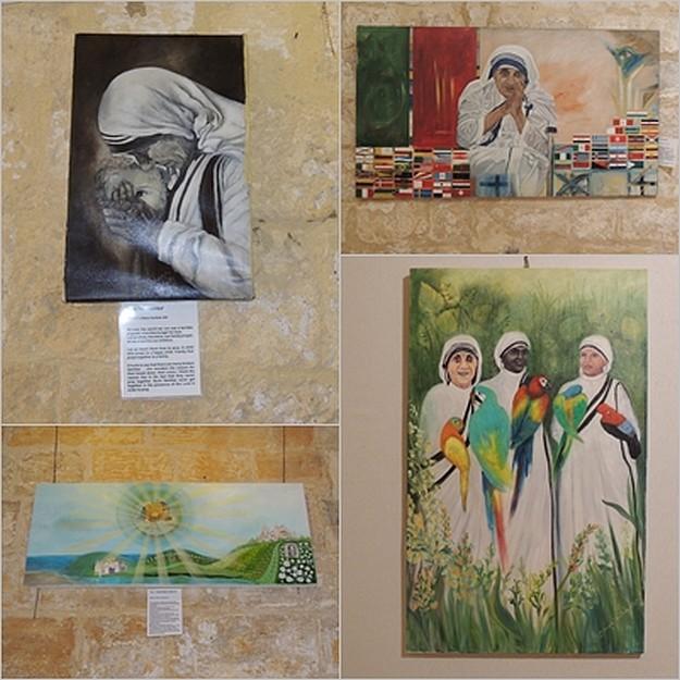 Art exhibition at the Cittadella on Mother Teresa of Calcutta