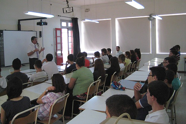Health & Safety educational talks at Sir M. A. Refalo Centre