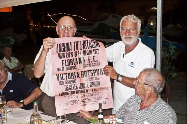 Celebration for Gozo's Victoria Hotspurs F.C. 1961-62 team