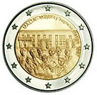 Issue of the second in the series of €2 commemorative coins